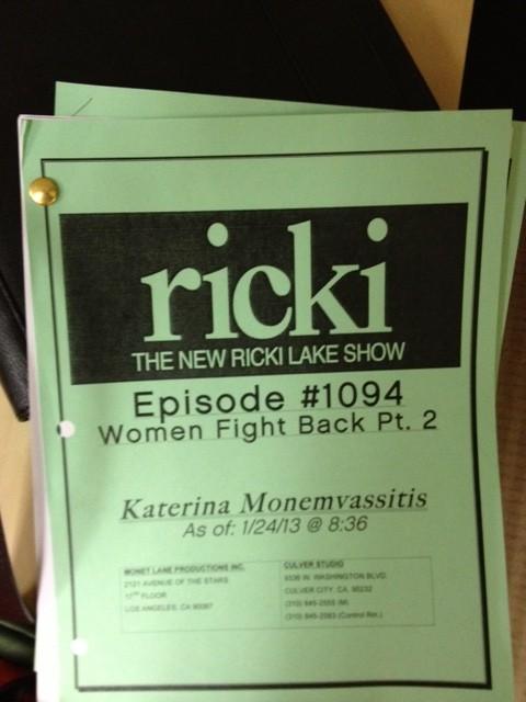 Ricki (Lake Show) Eve