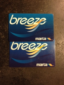 Have Breeze Card, will travel, snobby motorists be dam*ed!