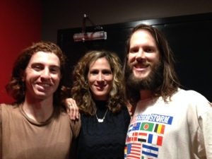 Meet Julian and Parker, 2/3 of rock band The Whigs. Met them in New Haven, CT. Reunited in ATL. Beautiful.