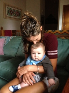 Speaking of love, I fell more deeply in love with my nephew. How could I not?