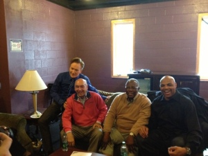 On a chilly April weekday, I spent upwards of three hours in a green room with these guys. Listening to them tell stories was a blessing and an honor.