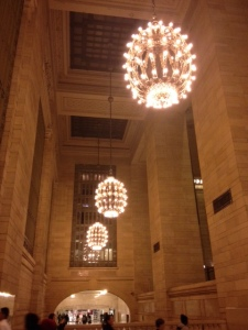 NYC is still my first love. Grand Central, my heart.