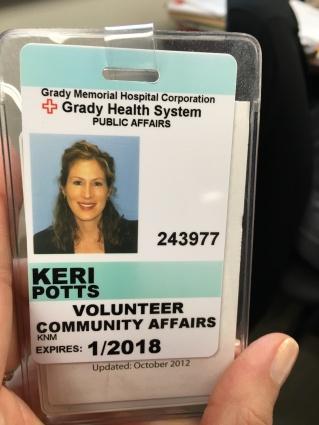 grady badge